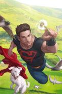 Superboy and krypto by artgerm-d360cii