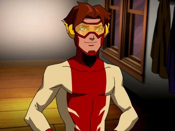 File:Flash Bart Allen Impulse DCAU YJ Impulse.png