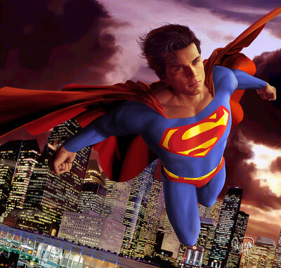 Superman Metropolis by guisadong gulay