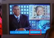 Jonathan kents blooper name on tv at his election