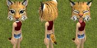 Lara the Lynx Cat