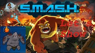 SMASH MONSTERS- LET´S SHOW RED BARF