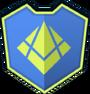 Emblem - Green Broken Lozenge