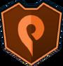Emblem - Orange Swirl