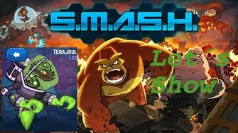 SMASH MONSTERS LET´S SHOW GREEN EELECTRICUS