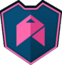 Emblem - Pink Chevron