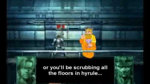 Smash Bros Brawl Character Moveset - The King