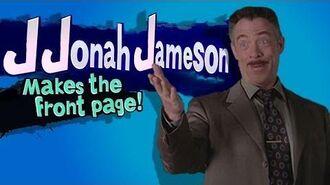 Smash Bros Lawl Character Moveset - J Jonah Jameson