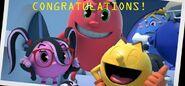 Pac-man congratulations