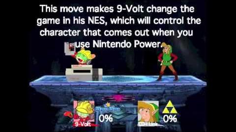 Smash Bros Lawl Moveset- 9-Volt