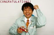 Shinya arino congratulations