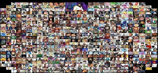File:Smash brothers elite roster ver megas w extra by stevenstar777-d5kpk4a.jpg