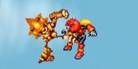 Mecha Sonic vs. Axem Rangers X