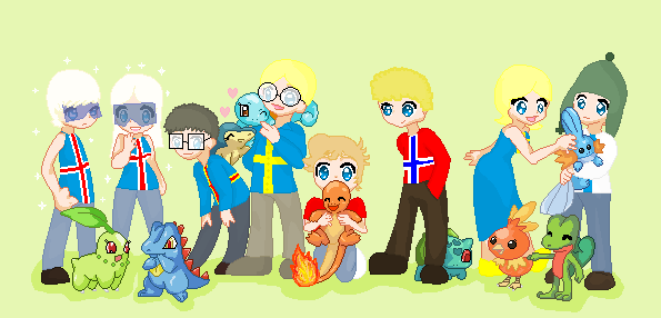 File:Satw nordic and their pokemon by cartoon gal-d3l5g2y.png