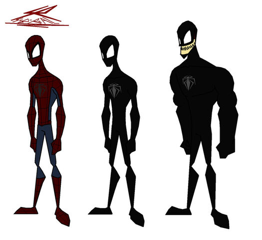 File:Spiderman and venom suit by Sub Real.jpg