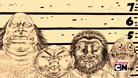 File:Festro, Gweelok, Slog, and Dingle in Monster Cops 7.png