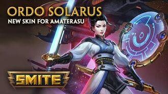 SMITE - New Skin for Amaterasu - Ordo Solarus