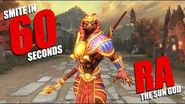 SMITE in 60 Seconds Ra, The Sun God