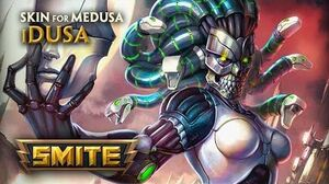 SMITE - New Skin for Medusa - iDusa