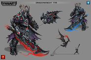 Tyr 'Dragon-knight' concept