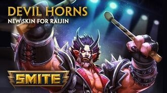 SMITE - New Skin for Raijin - Devil Horns