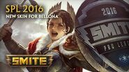 SMITE - New Skin for Bellona - SPL 2016 (Season Ticket)