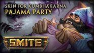 New Kumbhakarna Skin Pajama Party