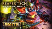 SMITE - New Skin for Thanatos - Reaper Tech