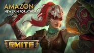 SMITE - New Skin for Athena - Amazon