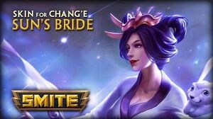 New Skin for Chang'e - Sun's Bride