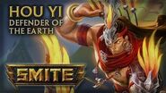 SMITE - God Reveal - Hou Yi, Defender of the Earth