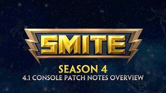 SMITE - 4.1 Console Patch Overview - Season Four