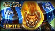 New Skin for Anhur - Star Slayer