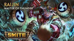 SMITE - God Reveal - Raijin, Master of Thunder