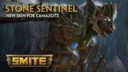 SMITE - New Skin for Camazotz - Stone Sentinel