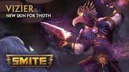 SMITE - New Skin for Thoth - Vizier