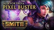 New Freya Skin Pixel Buster