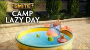 SMITE - Hoot 'n Holler Bacchus - Free in Camp Lazy Day!