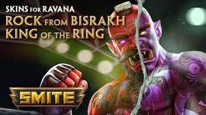 SMITE - New Skins for Ravana - King of the Ring & Rock from Bisrakh