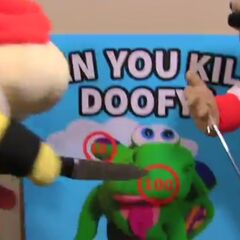 Bowser Junior playing can you kill Doofy.