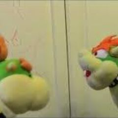 Bowser with his son.