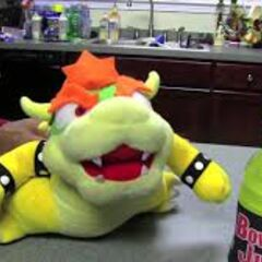 Bowser with his own product