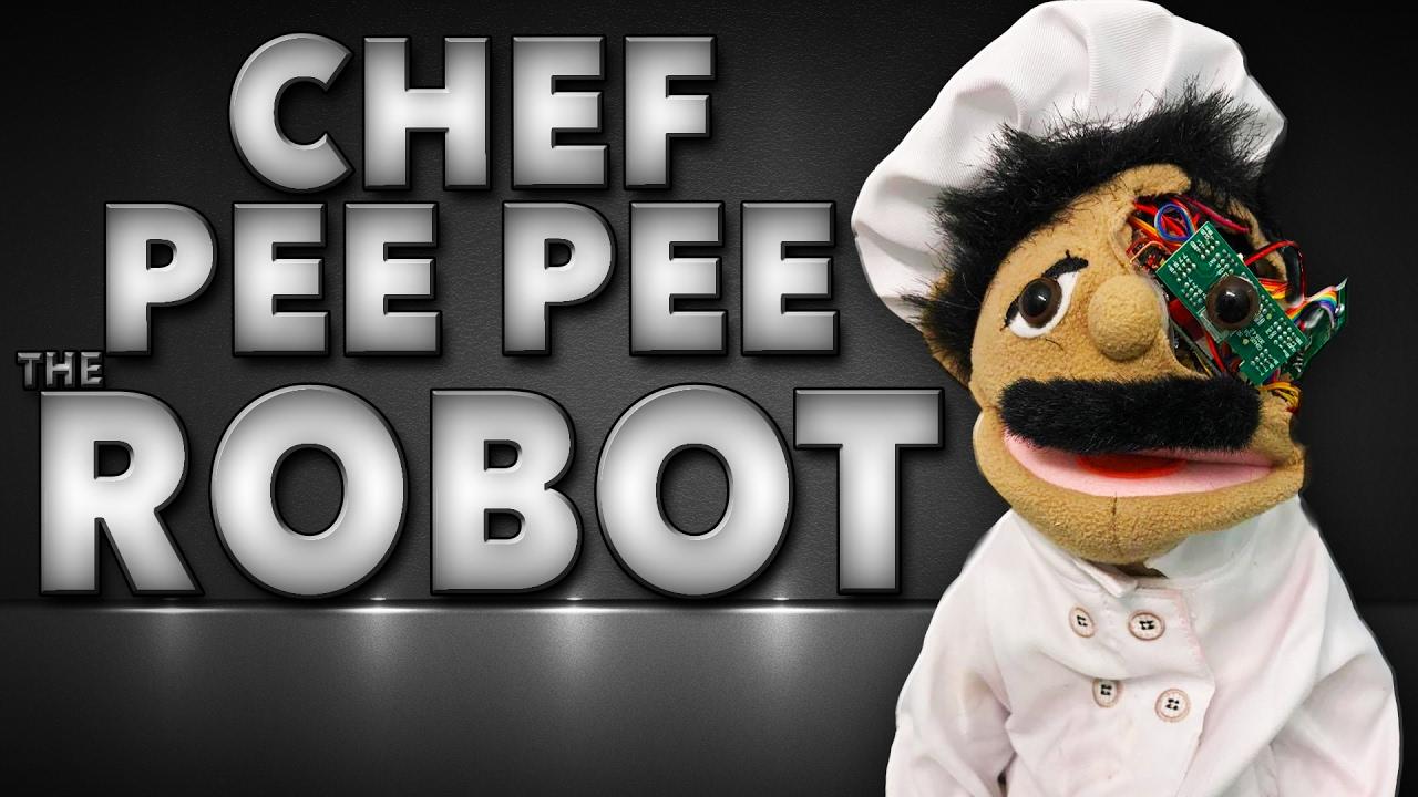 Chef Pee Pee The Robot