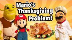 SML Movie- Mario's Thanksgiving Problem!