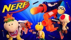 SML Short Bowser Junior's Nerf War!