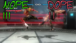 Dead or Alive 5 First Impressions screen