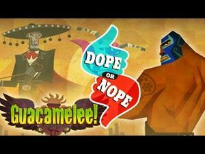 Putting the Melee in Guacamelee logo