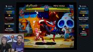 MARI SUMO SQUASHES DR. COOL SEX Marvel vs Capcom