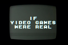 If Video Games Were Real Title