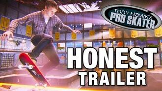 TONY HAWK'S PRO SKATER (Honest Game Trailers)